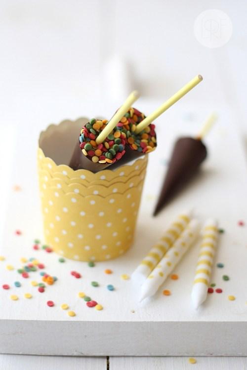 parapluie en chocolat