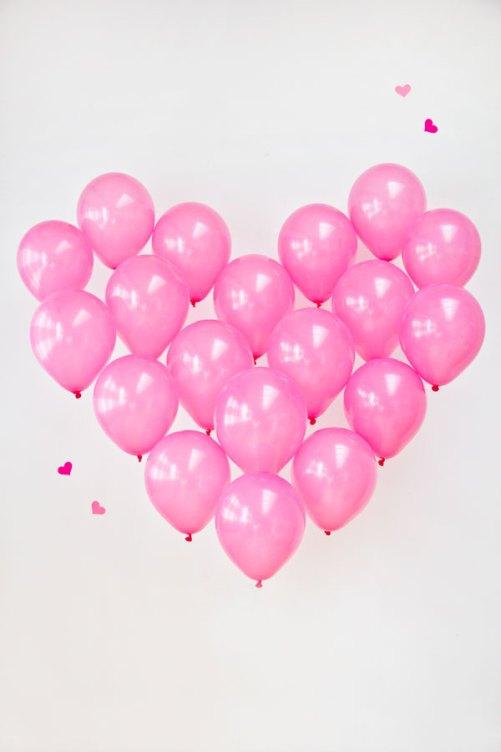 DIY Coeur de ballons