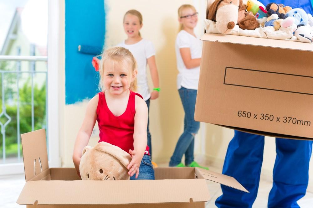 Comment faciliter le déménagement pour ses enfants ?