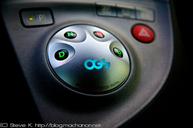 OGS Intelligence Position Switch Prius ZVW30: Enjoy the new shifter