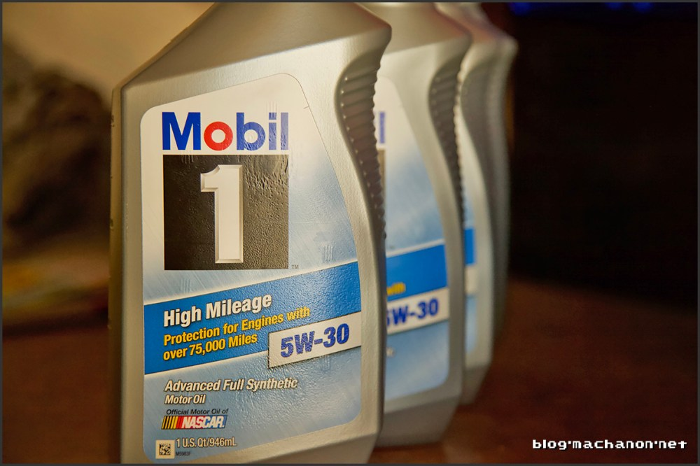 Mobil 1 5w-30 for High Mileage Vehicles