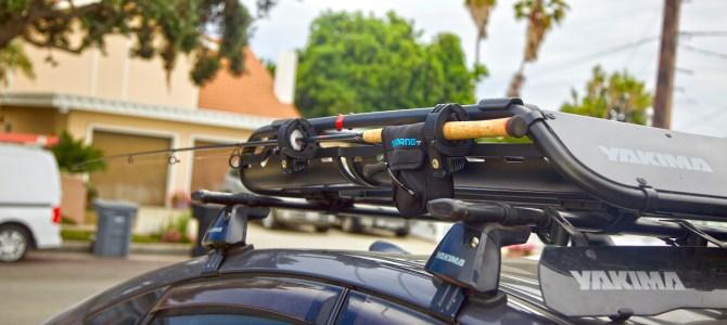 Simple Fishing Rod Rooftop Basket Travel Mod