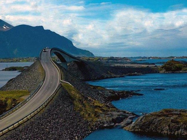 Estrada do Atlântico – Noruega