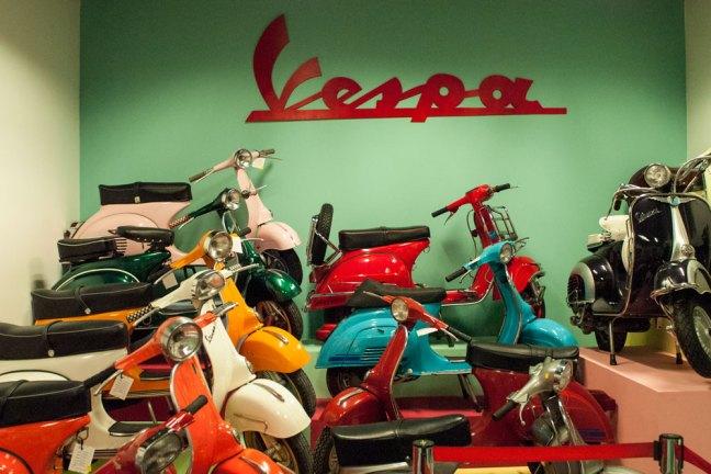 Miami Auto Museum - Dezer Collection Vespa