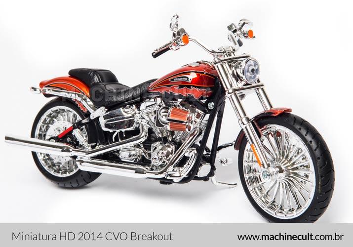 Miniatura Harley-Davidson 2014 CVO Breakout