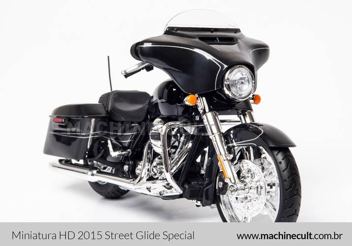 Miniatura Harley-Davidson 2015 Street Glide Special