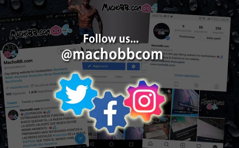 MachoBB ya tiene cuenta en Instagram !
