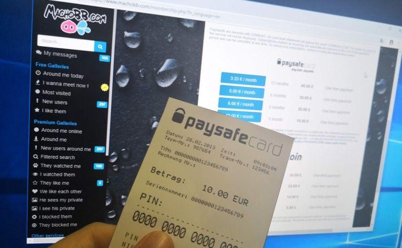 Hazte Premium sin tarjeta de crédito con Paysafecard