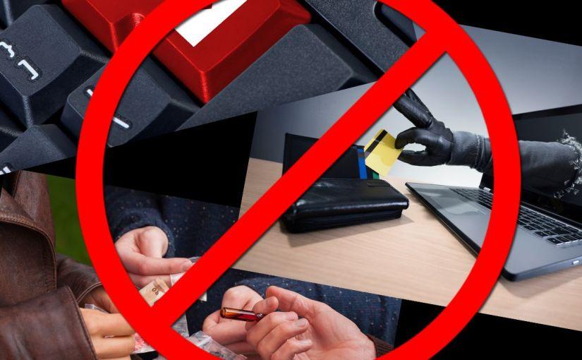 Aviso contra el spam, engaños, y drug dealers