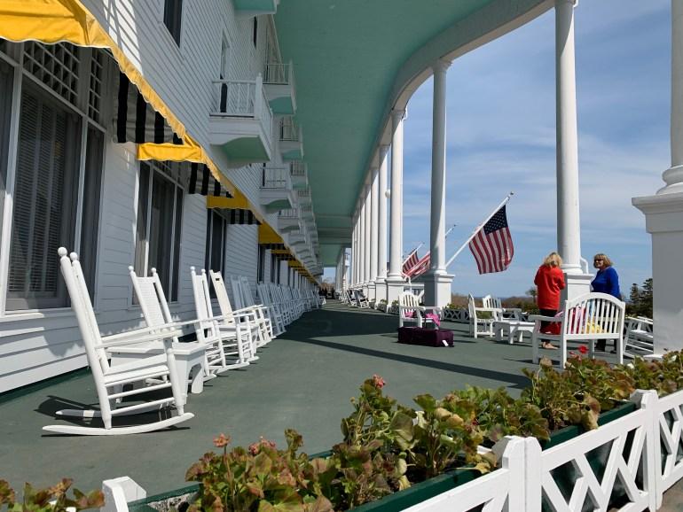 Grand Hotel Mackinac Island America S Classical Summer Residence Mackinac Island App