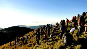 Mt Pulag - summit people