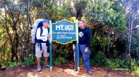 Mt Ugo summit with Bro