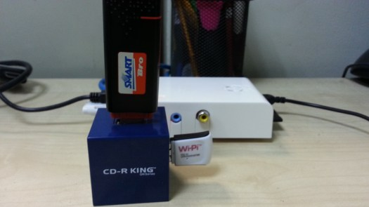 WiPi and SmartBro GSM USB Modem