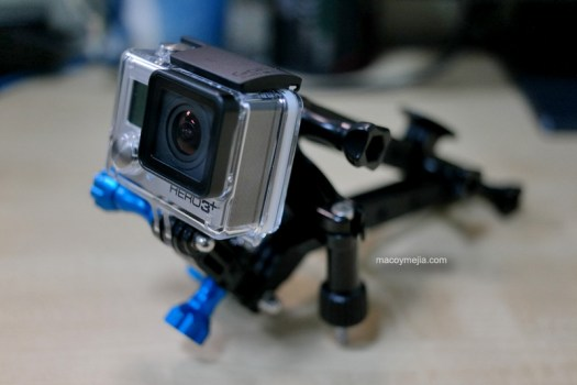 GoPro Hero3 Black Edition Rig
