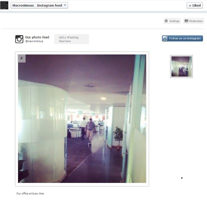 Instagram FB integration