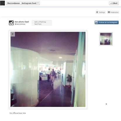 Instagram FB integration