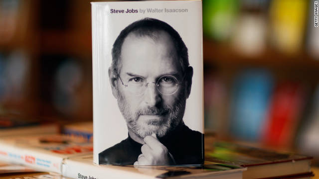 Steve Jobs book © CNN