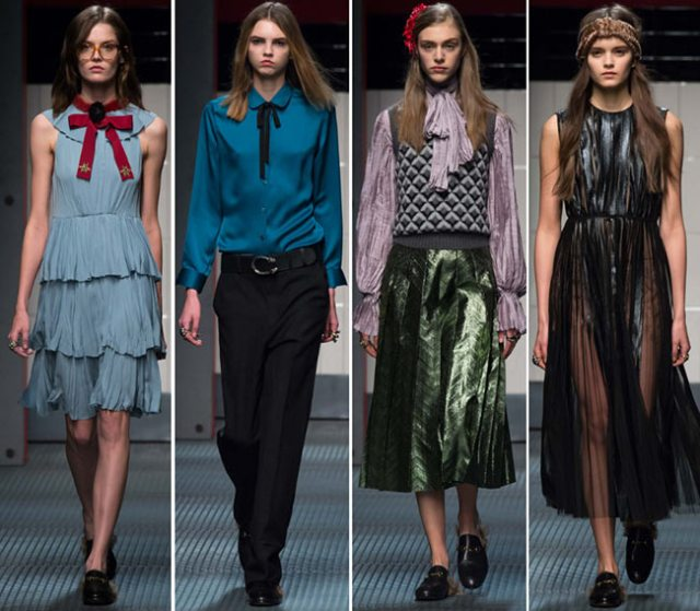 Milan Fashion Week : Gucci Fall / Winter 2015-2016 - Madly