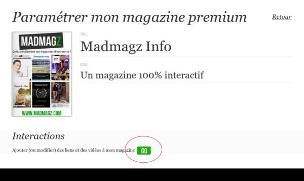 magazine interactif, magazine numérique, magazine Peremium