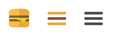 Hamburger menu - Source:
