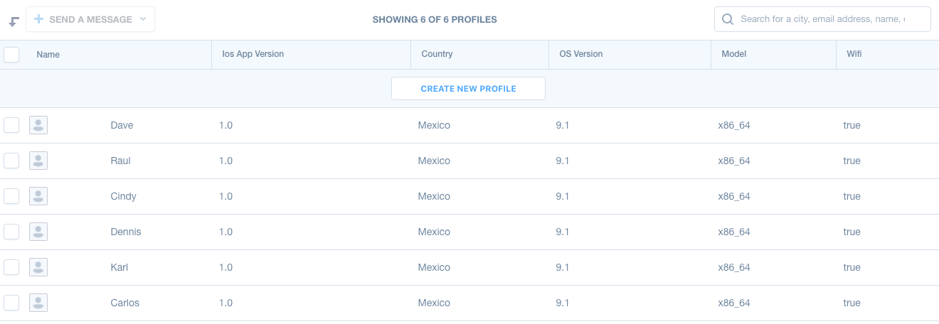 Mixpanel User Demographics