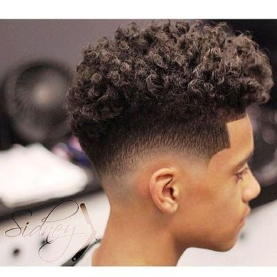 Coupe afro homme 15 id es pour vous inspirer le journal mahasoa - Degrade afro homme ...