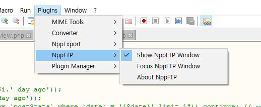 nppftp configuration