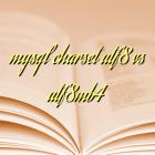 mysql charset utf8 vs utf8mb4