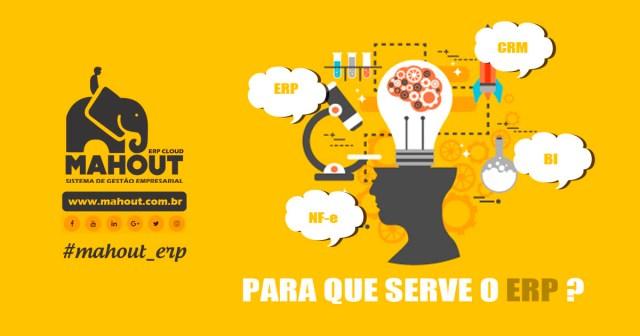 Mahout ERP Cloud - Sistema de Gestão Empresarial - NFe - CRM - E-commerce - Commerce