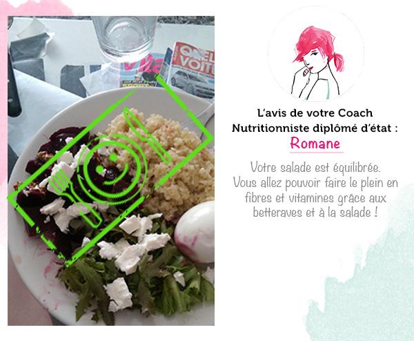 2ème place - salade