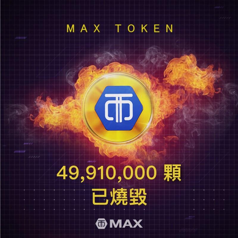 MAX Token 第三次燒毀