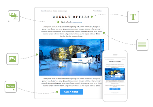 Weekly real estate newsletter template. Create Perfect Responsive Email Templates With The New Drag N Drop Editor