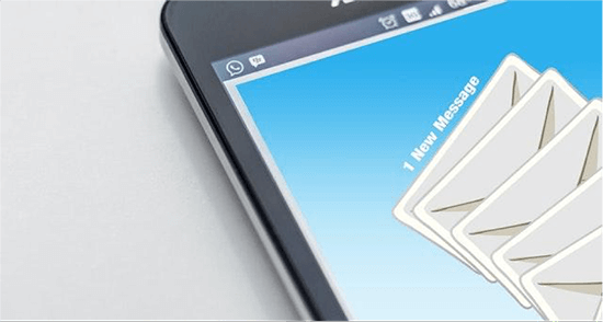 Getting email messages on smartphone