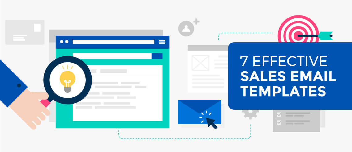 7 Effective Sales Email Templates - Mailshake Blog