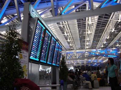 スワンナプーム空港閉鎖