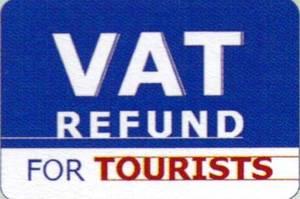 VAT Refund手続き