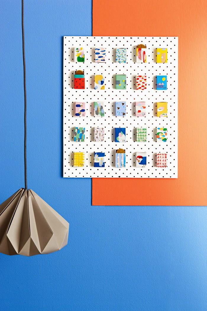 Fabriquer un calendrier de l'avent original avec des boites d'allumettes