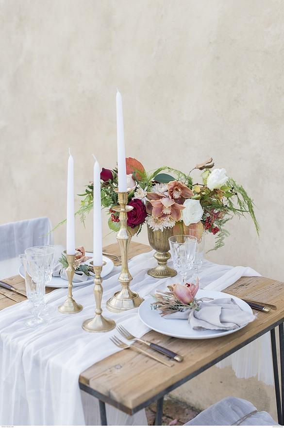 Inspiration pour une magnifique table de saint Valentin