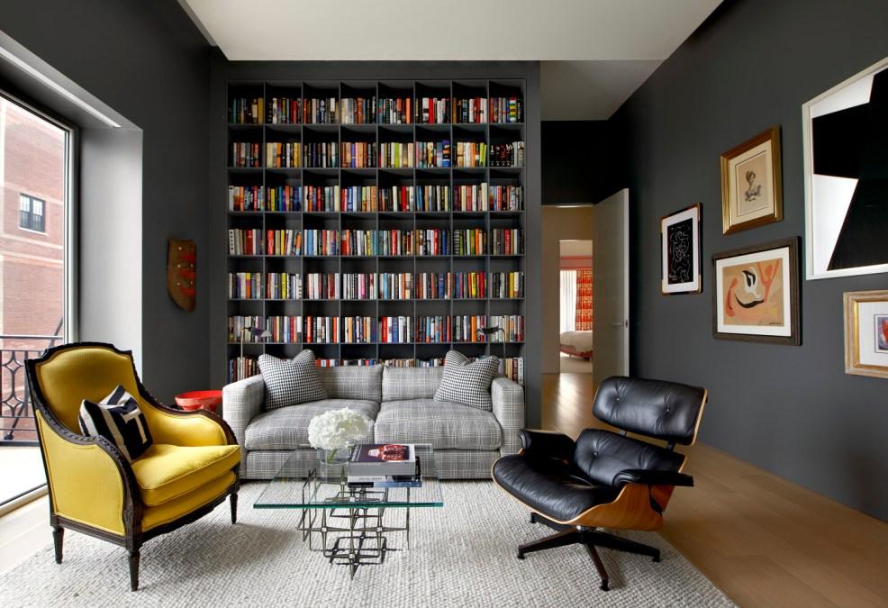 Aménager une bibliothèque murale dans son salon