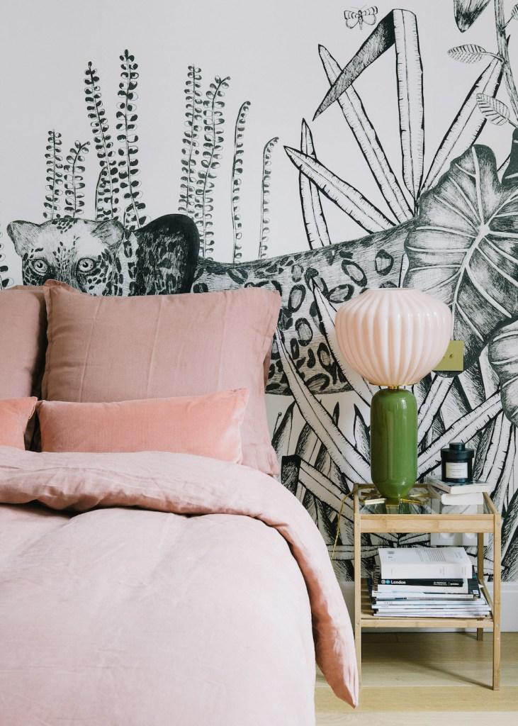 Inspiration déco pour une chambre féminine et moderne