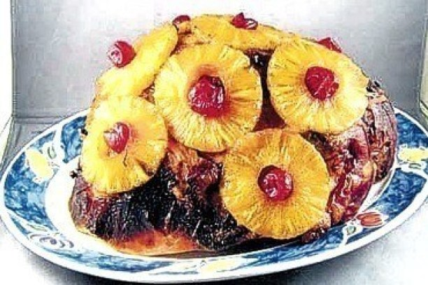 Jamaican Christmas ham from the Juicy Chef – a must have at any Jamaican Christmas dinner. Photo credit: Jamaica Observer, December 9, 2010