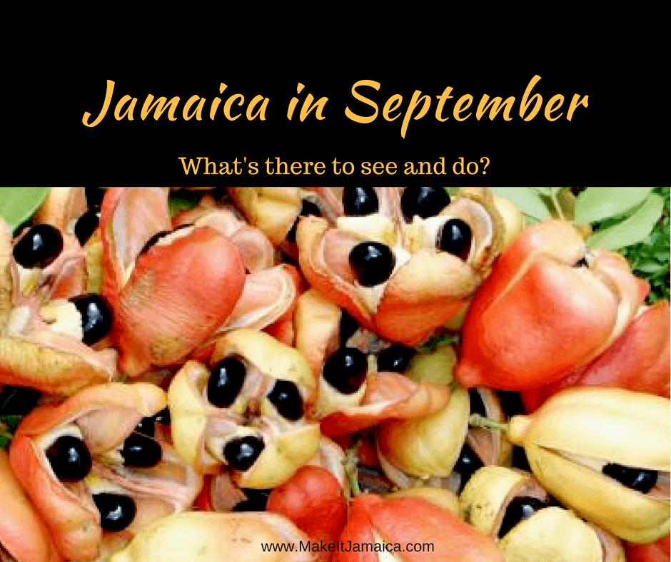 Jamaica in September