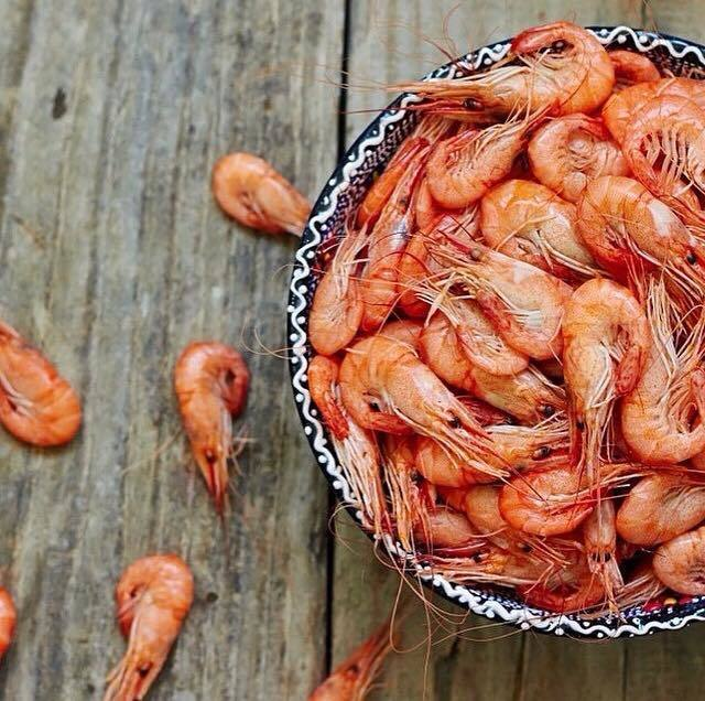 Rain Forest Seafood Festival - You must try the peppered shrimp