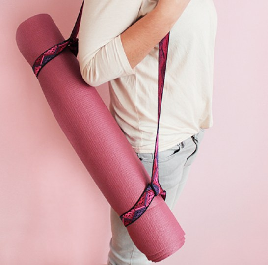 Sew Fast! Make Your Own Yoga Mat Holder!