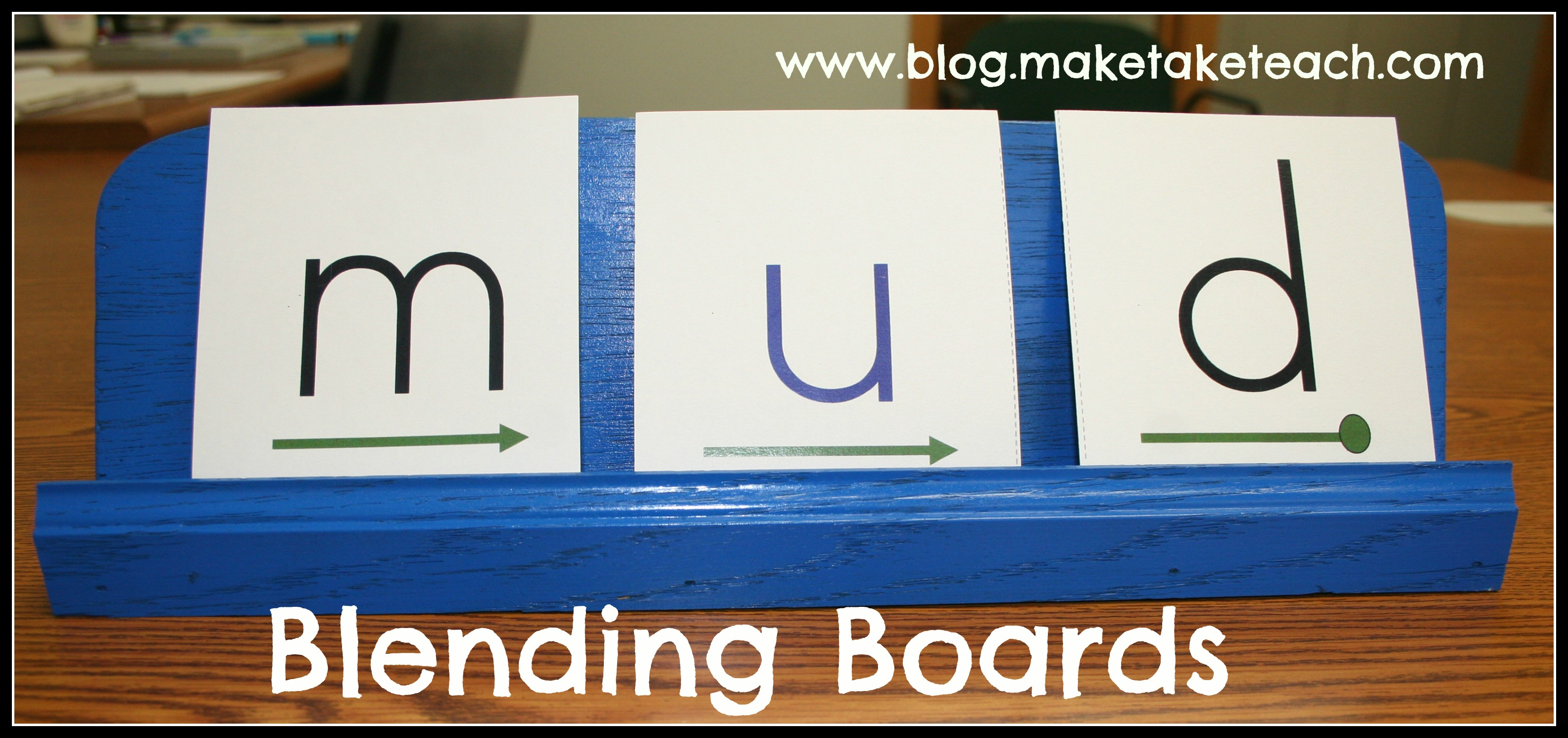 Using Blending Boards During Small Group Instruction