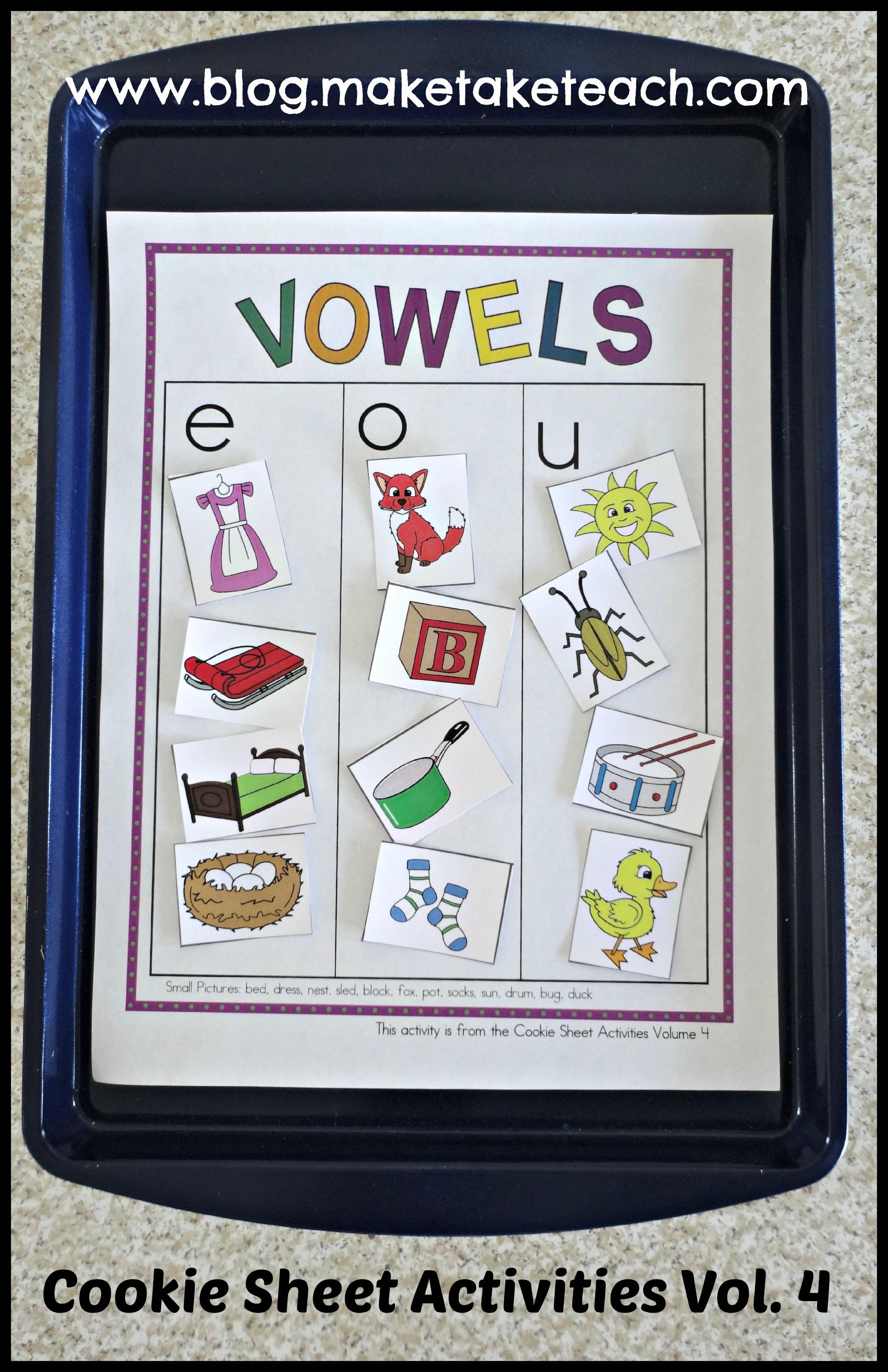 Cookie Sheet Activities Pre K Kindergarten Bundle