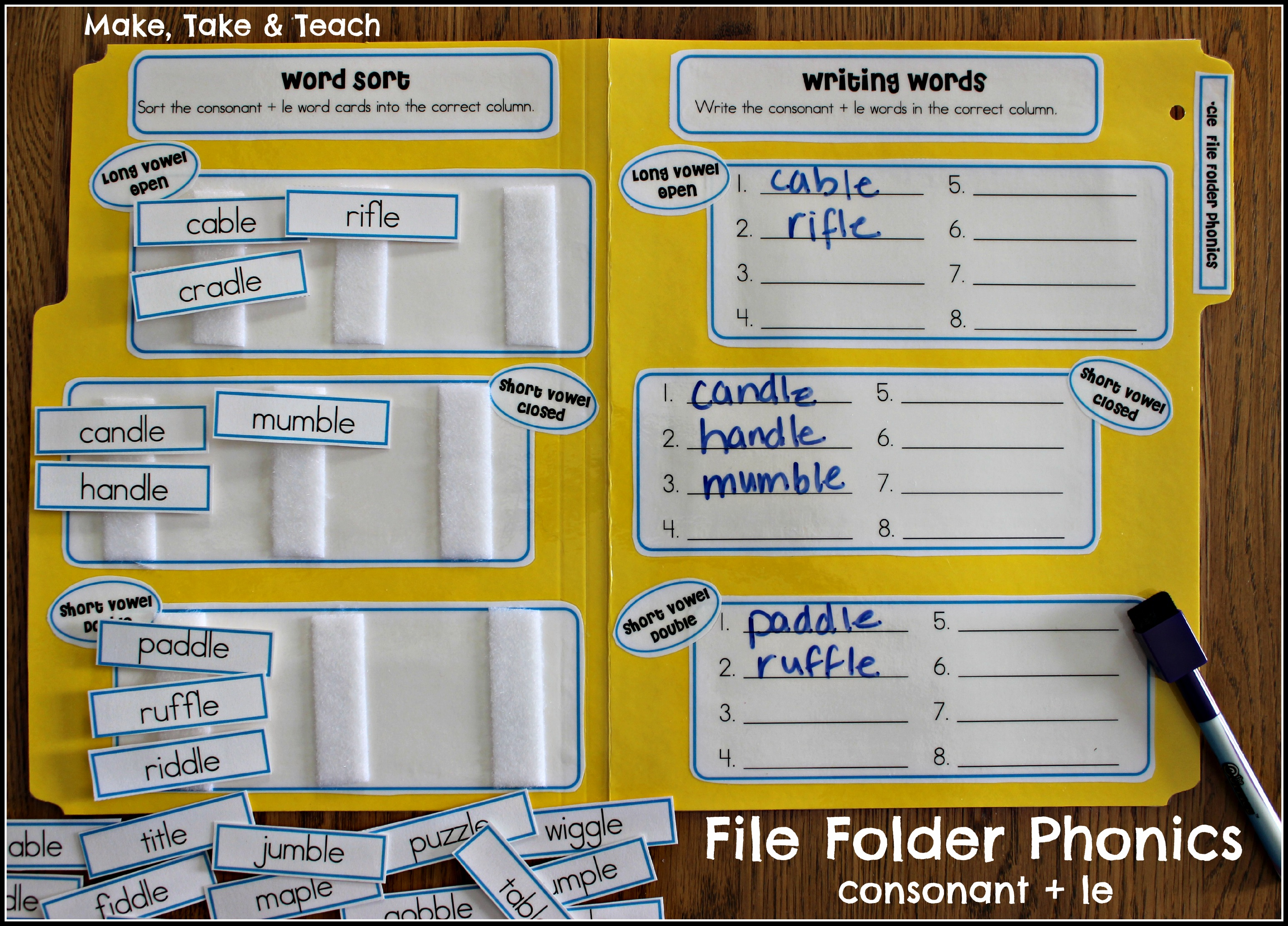 File Folder Phonics