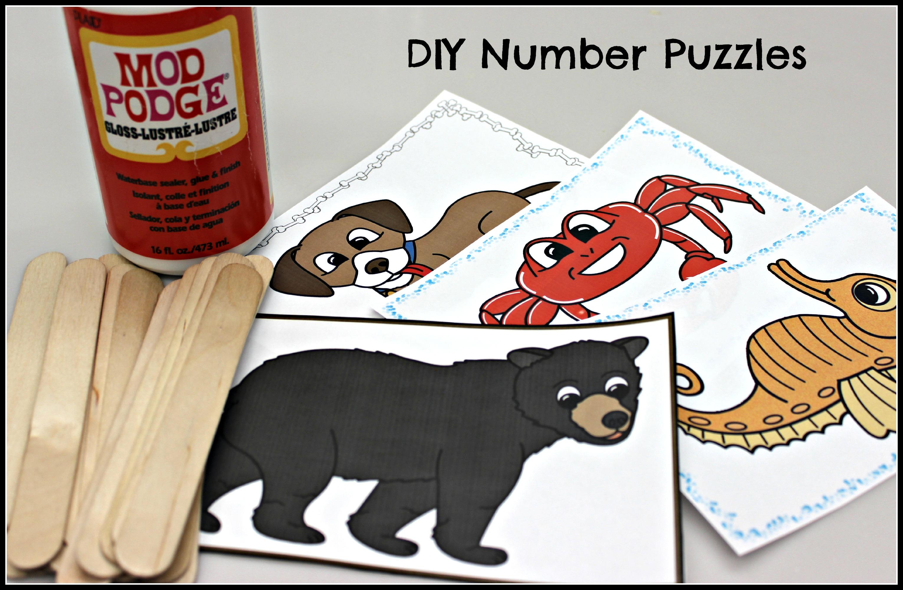 Diy Number Puzzles