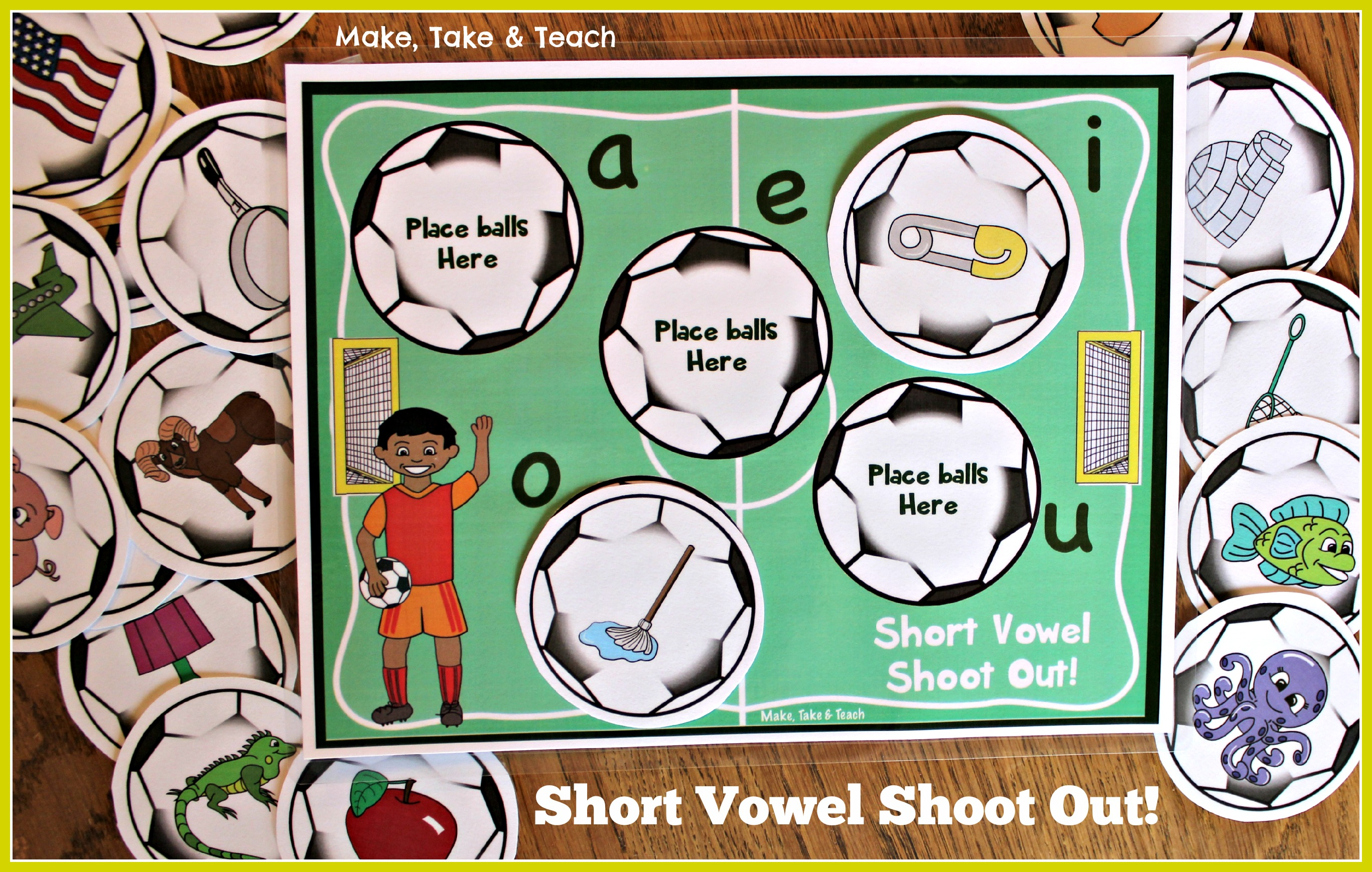 Short Vowel Soccer Shoot Out