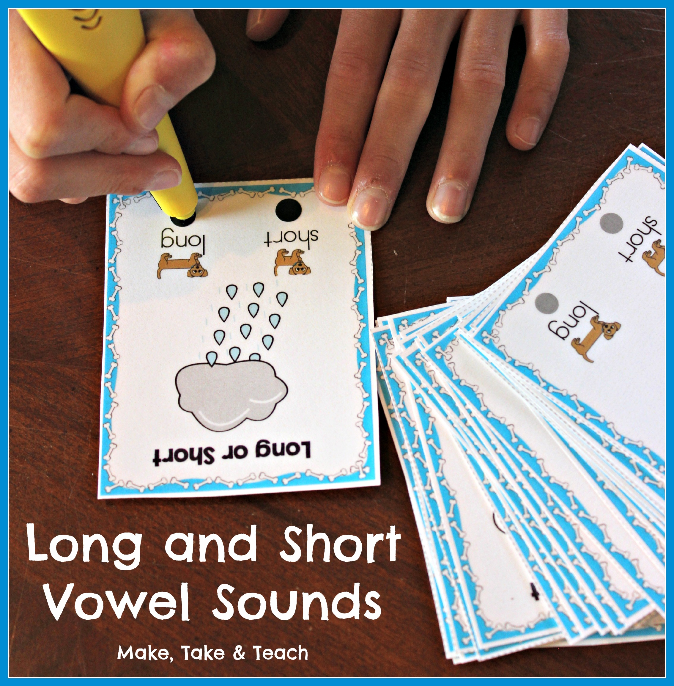 Long And Short Vowel Activities For First Grade